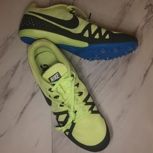 NIKE 10 Men Zoom Rival D Spikes Track Shoes